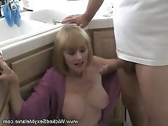 Black wife threesome